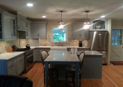 Kitchen Remodel : Rewired space