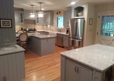 Kitchen Remodel :  Expanded into new space