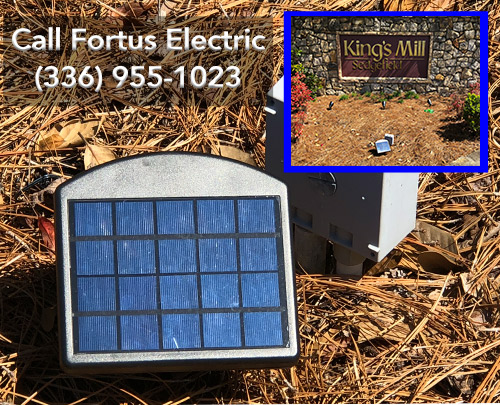Solar Powered Lighting solutions from Fortus Electric